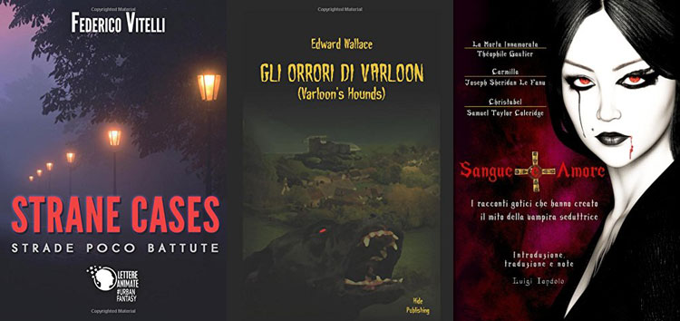 Le copertine de Strane cases, Gli orrori di Varloon e Sangue e Amore