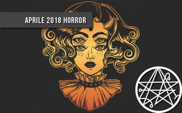 I romanzi e le raccolte horror weird di aprile 2018