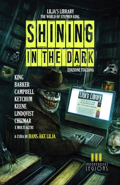 La copertina della raccolta horror Shining in the Dark