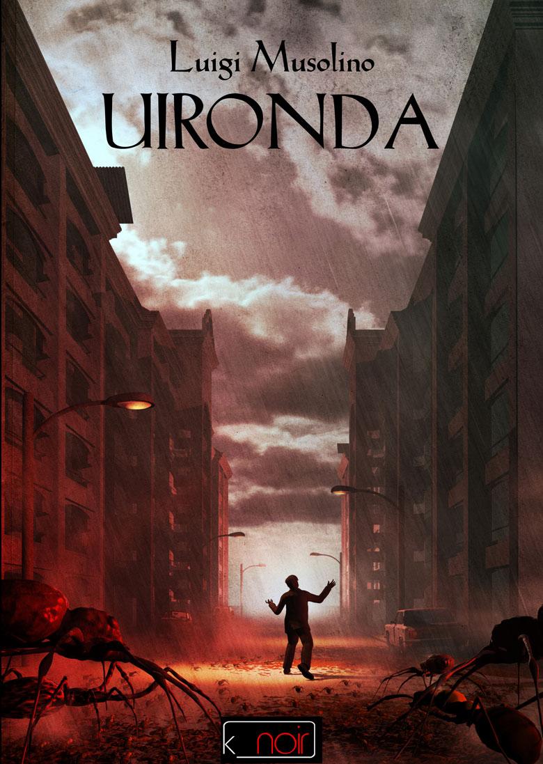 La copertina della raccolta Uironda di Luigi Musolino