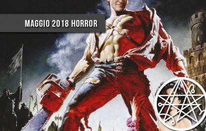 Romanzi e raccolte horror weird edite a maggio 2018